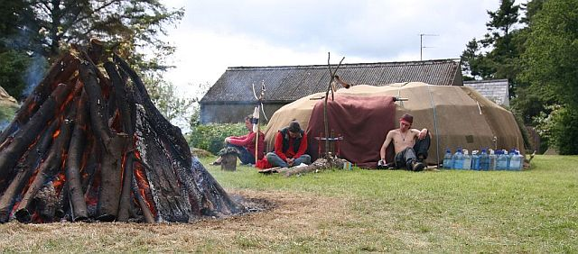 Fire and Sweat Lodge